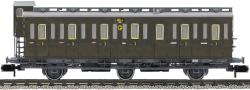 Abteilwagen 3-achs 3.Kl. BrH