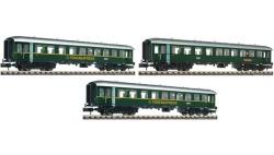 """Set: Reisezugwagen """"Ferien-Express"""", DB,  Ep III, 3-tlg."""