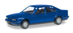 Minikit BMW 5er E 34, ultramarinblau
