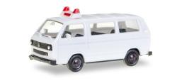Minikit VW T 3 Bus unbedruckt, weiß