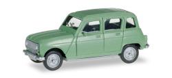 Renault R4, lindgrün