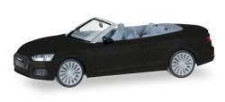 Audi A5 Cabrio, mythosschwarz Metallic