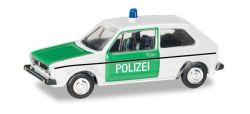 VW Golf 1 Polizei