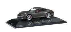 Porsche 911 Carrera S Coupé 991 II, achatgrau metallic