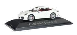 Porsche 911 Carrera 4 S Coupé, weiß
