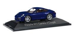 Porsche 911 Carrera 4 Coupé, dunkelblau metallic
