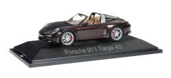 Porsche 911 Targa 4S, mahagoni metallic