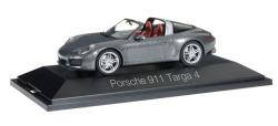 Porsche 911 Targa 4, achatgrau metallic