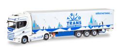 Scania CS20 HD Kühlkoffer-Sattelzug Trio-Trans