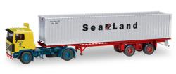 Volvo F 10 Container-Sattelzug Auf Achse