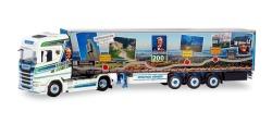 Scania CS 20 HD Gardinenplanen-Sattelzug Höhner Raiffeisenliner
