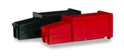 Zubehör 2 Pressmüllcontainer, grün und rot