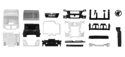 Teileservice Fahrerhaus MAN TGX XXL Euro 6 mit WLB & Dachspoiler