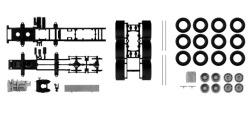 Teileservice Fahrgestell 4-achs Volvo Schwerlastzugmaschine, 2 Stück