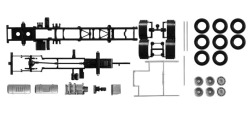 Teileservice LKW-Fahrgestell Volvo FH 3-achs, 2 Stück