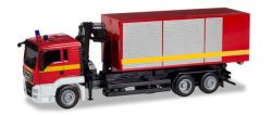 MAN TGS L Wechsellader-LKW mit Kran Feuerwehr