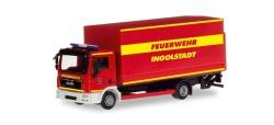 MAN TGL Planen-LKW mit Ladebordwand Feuerwehr Ingolstadt