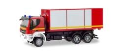 Iveco Trakker Wechsellader-LKW 3a Feuerwehr