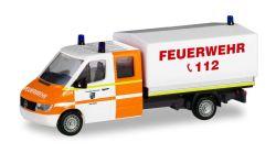Mercedes-Benz Sprinter `96 DoKa mit Plane Feuerwehr Rhede