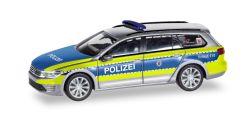 VW Passat GTE Polizei Hessen
