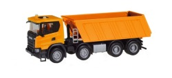 Scania CG 17 8x4 Baukipper, orange