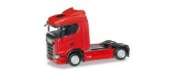 Scania CS 20 ND Zugmaschine, rot