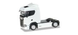 Scania CS 20 ND Zugmaschine, weiß