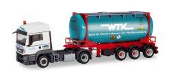 MAN TGS LX Euro 6c Swapcontainer-Sattelzug Wittener Transport Kontor / Stratmann