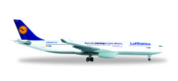 Airbus A330-300 Lufthansa Shark Skin