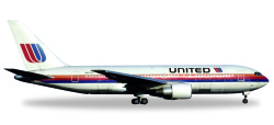 Boeing 767-200 United Airlines Rainbow / Saul Bass