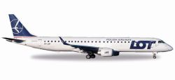 Embraer E195 LOT Polish Airlines
