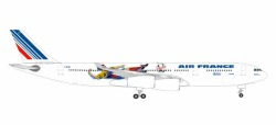 Airbus A340-300 Air France - France 1998: Brazil/Columbia