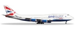 Boeing 747-400 British Airways OneWorld