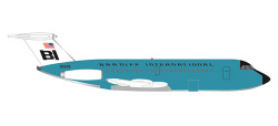 BAC 1-11-200 Braniff turquoi