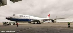 Boeing 747-400 British Airways - 100th Negus design