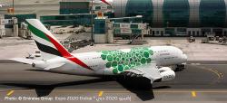 Airbus A380 Emirates - Expo 2020 Dubai Sustainability