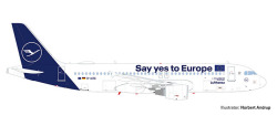 A320 Lufthansa, Yes to Europ
