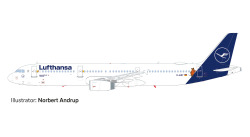 Airbus A321 Lufthansa Die Maus