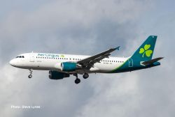 Airbus A320 Aer Lingus - new 2019 colors