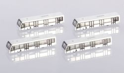 4-in-1 set Airport Bus Set