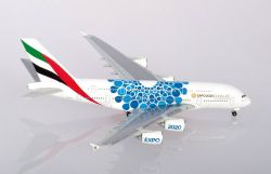 Airbus A380 Emirates - Expo 2020 Mobility Livery
