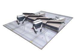 Midsection Los Angeles - Tom Bradley Intern. Terminal