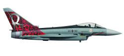 Eurofighter Typhoon Luftwaffe TaktLwG 71 Richthofen