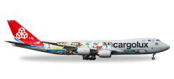 Boeing 747-8F Cargolux - 45th Anniversary
