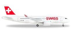 Airbus A220-100, Swiss International Air Lines