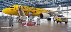Airbus A320 Eurowings Hertz 100 Years