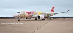 Airbus A220-300 Swiss Fête des Vignerons