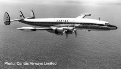 Lockheed L1049G Super Constellation Qantas
