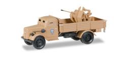 Opel Blitz LKW gepanzert mit 20mm Kanone