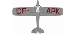 DH Puss Moth CF-APK Bert Hinkler